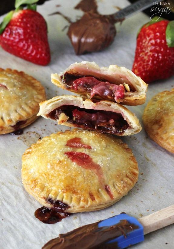 Strawberry Nutella Hand Pies