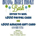 Enter to win a $500 Amazon gift card or PayPal Cash