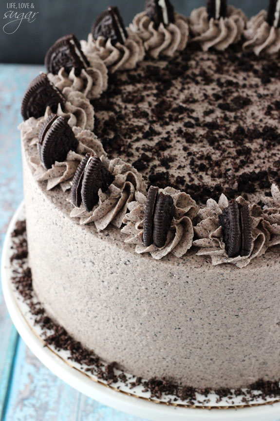 Oreo Cream Cheese Pound Cake