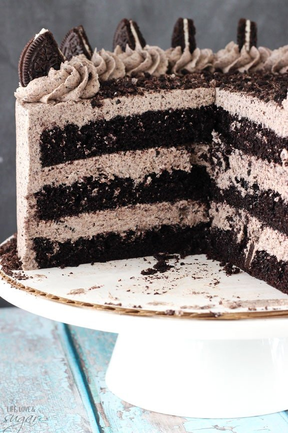 Chocolate Oreo Cake Life Love and Sugar