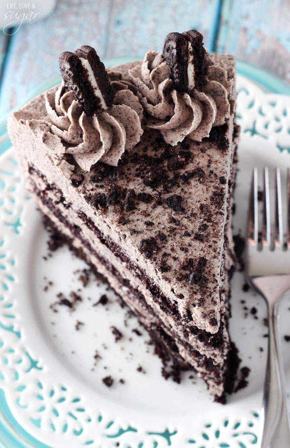 Chocolate Oreo Cake - Life Love and Sugar