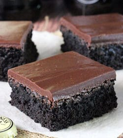 Image of Guinness Chocolate Brownies