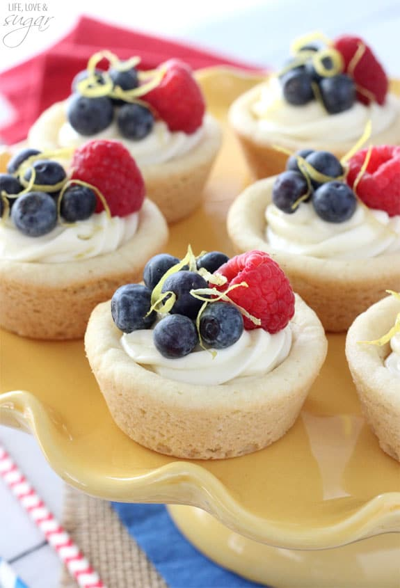 Mini Lemon Cheesecake Recipe