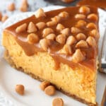 Loaded Butterscotch Cheesecake