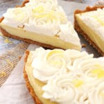 Image of a Creamy Lemon Tart
