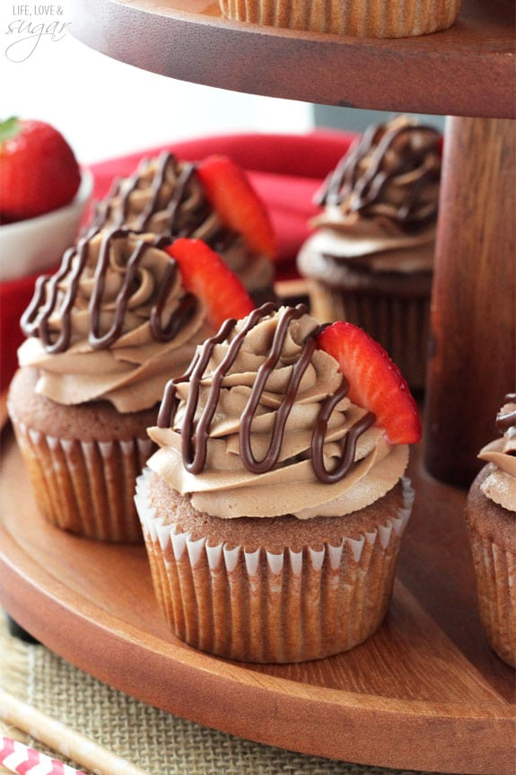 Nutella Cupcakes Life Love And Sugar
