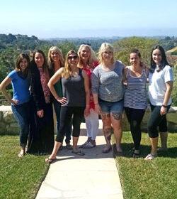 Santa Barbara Foodie Escape group photo 2