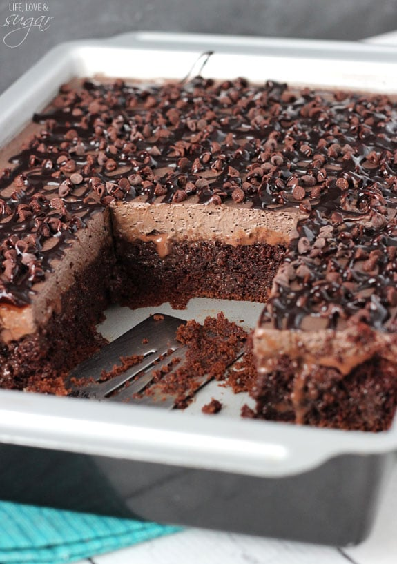 Cake Made With Hot Chocolate Mix