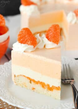 Image of Orange Creamsicle Ice Cream Cake