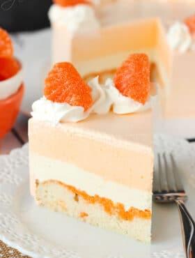Image of Orange Creamsicle Ice Cream Cake