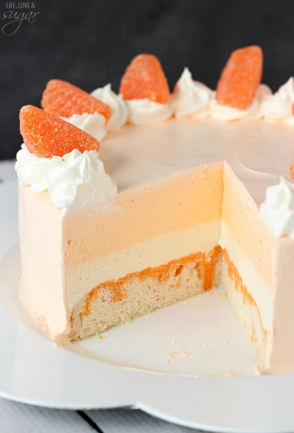 of orange cream cake cake with orange cream and orange buttermilk cake ...