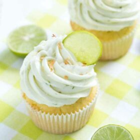 Image of Key Lime Coconut Cupcakes