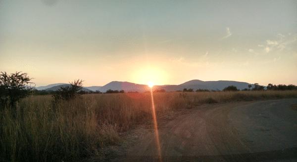 sunrise-driving
