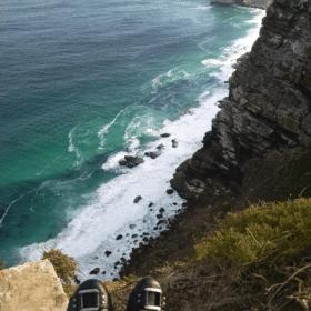 South African Safari 49 feet over edge peak