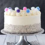 Sparkly Pom Pom Cake