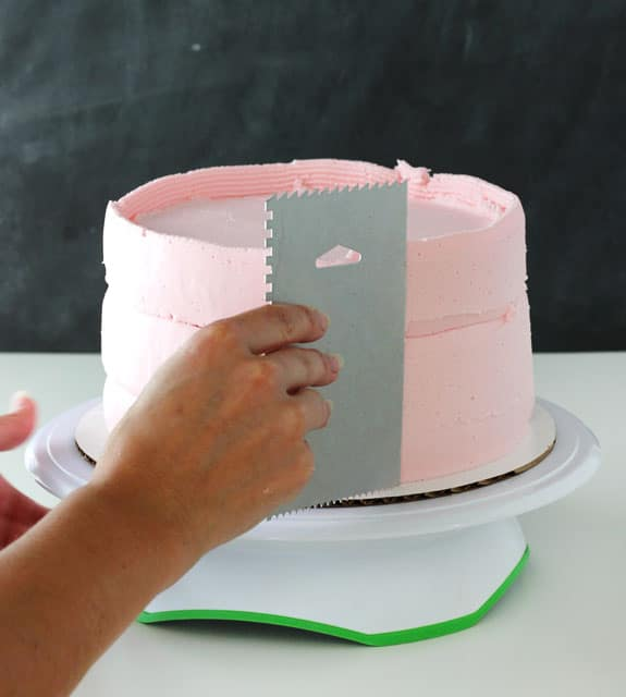 How to make buttercream icing smoother