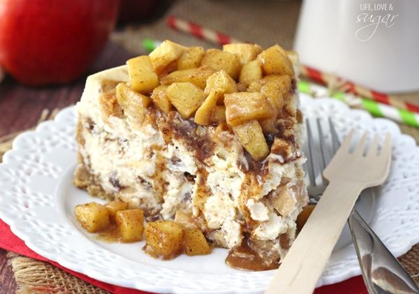 Apple Cinnamon Cheesecake