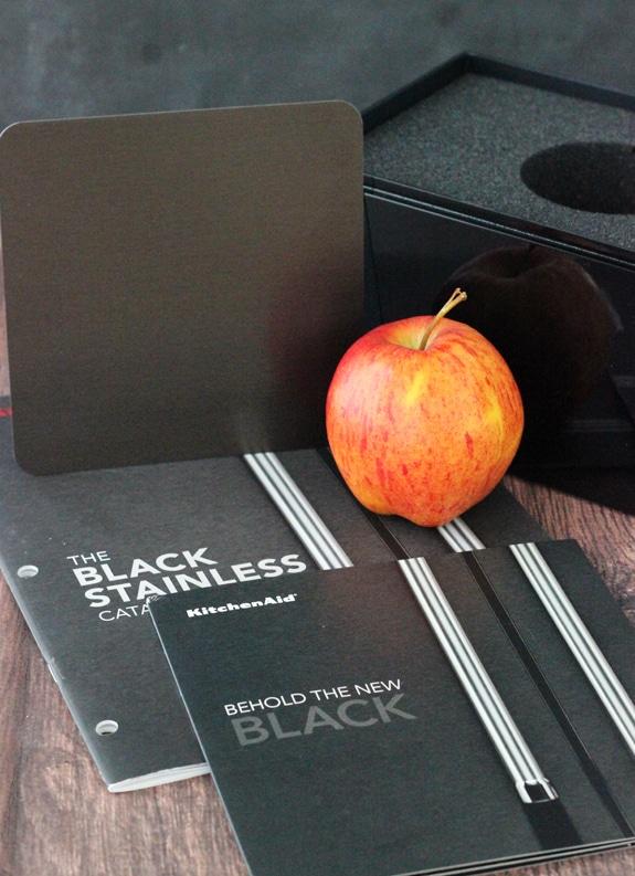 KitchenAid Black Stainless Steel Appliance sample