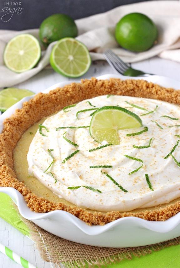 Key Lime Pie! Such a terrific, classic pie!
