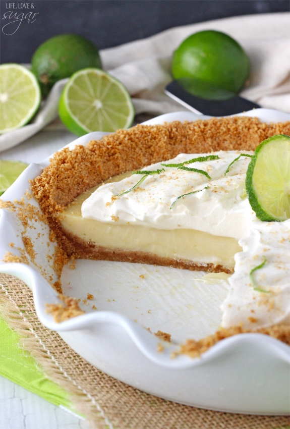 Key Lime Pie! Such a terrific, classic pie!