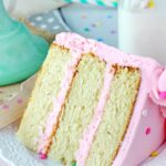Moist and Fluffy Vanilla Cake