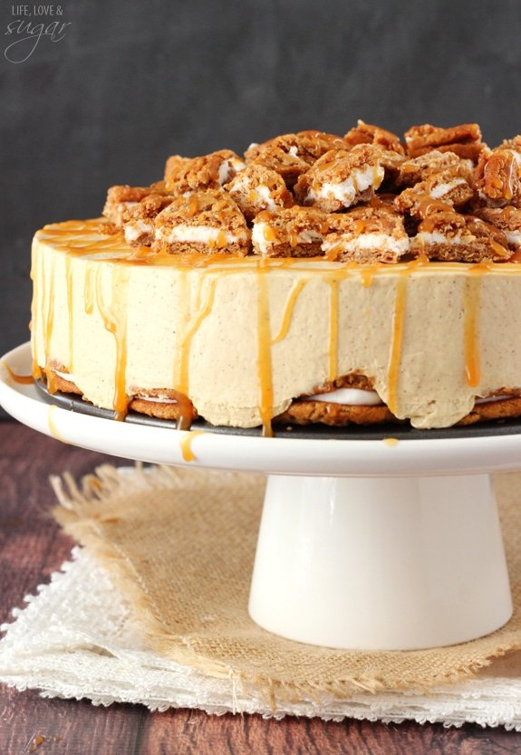 No Bake Oatmeal Cream Pie Cheesecake Life Love And Sugar