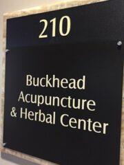 Buckhead Acupuncture & Herbal Center Sign