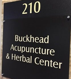 Buckhead Acupuncture & Herbal Center Sign