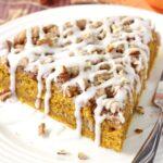 Cinnamon Streusel Pumpkin Coffee Cake