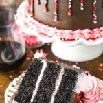 Red Wine Chocolate Cake image