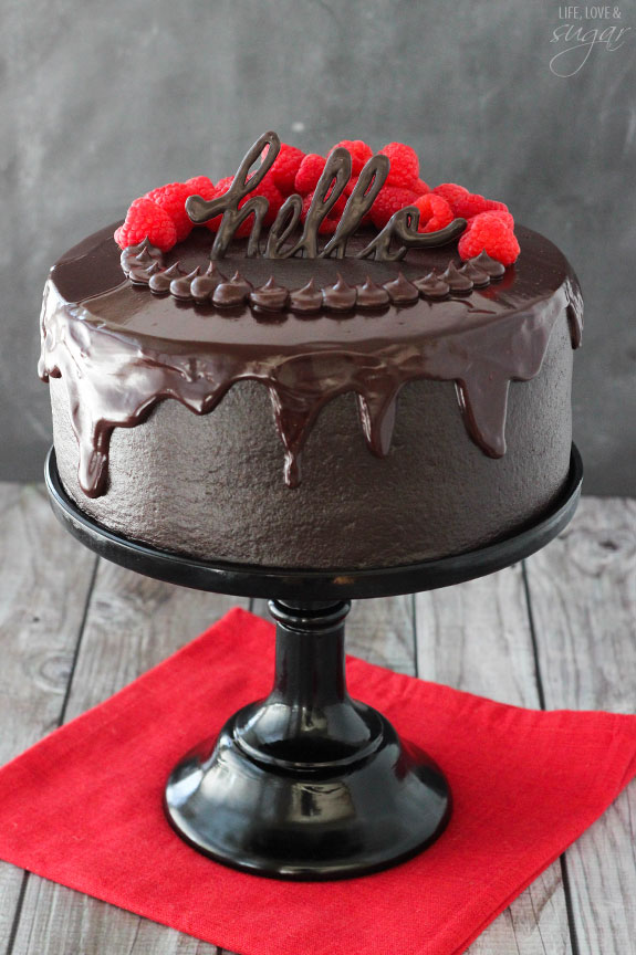 Red Wine Chocolate Cake Life Love And Sugar