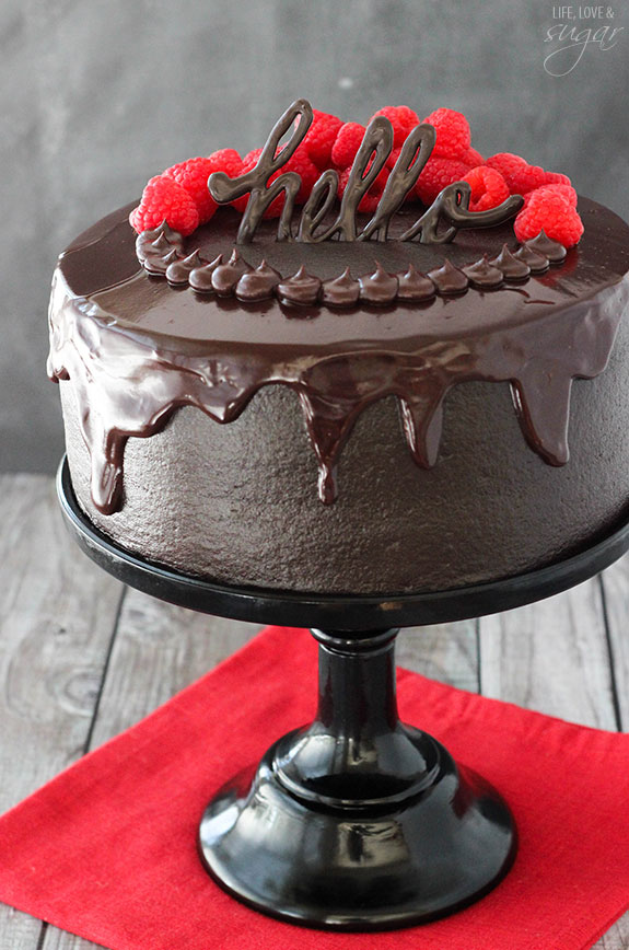 Red Wine Chocolate Cake Recipe Valentines Day Dessert Recipe