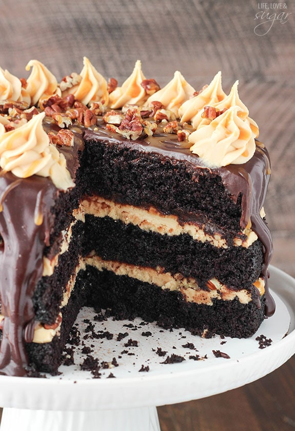 Gourmet German Chocolate Cake Recipe
