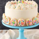 Baileys Frosted Vanilla Cookie Layer Cake