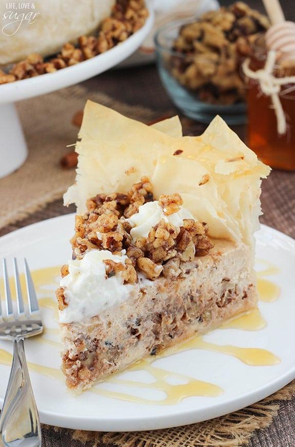 ca96b90a00d Baklava Cheesecake - Life Love and Sugar