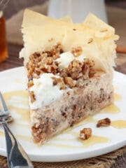 Baklava cheesecake recipe! So good!