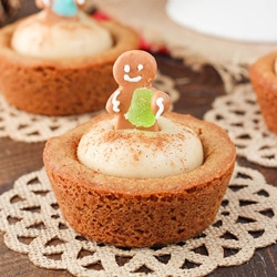 Gingerbread Cheesecake Cookies Recipe — Dishmaps