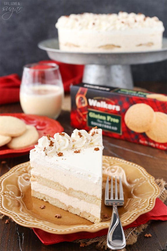 No Bake Eggnog Icebox Cake Life Love And Sugar