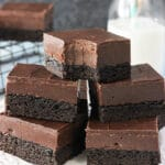 Nutella Fudge Brownies