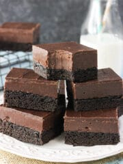 Image of Nutella Fudge Brownies