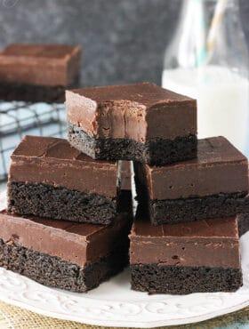 Image of Nutella Fudge Brownies