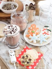 Hot Chocolate Bar and Cookie Exchange Party!