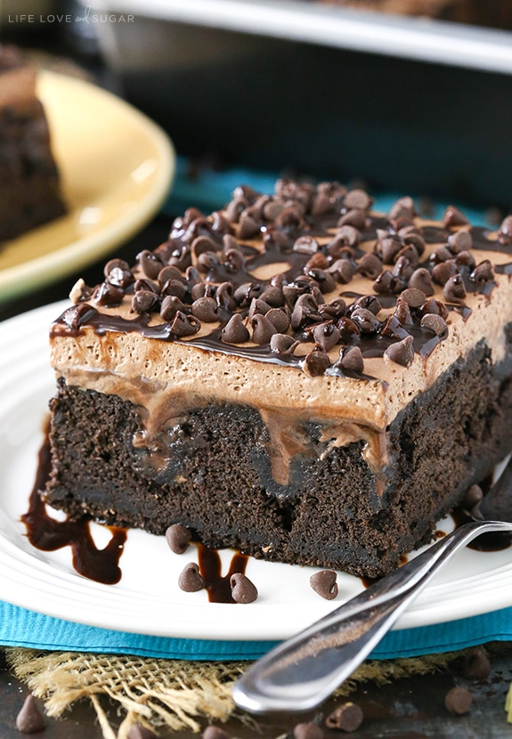 Easy Guinness Chocolate Poke Cake recipe