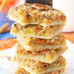 Carrot Cake Shortbread Bars
