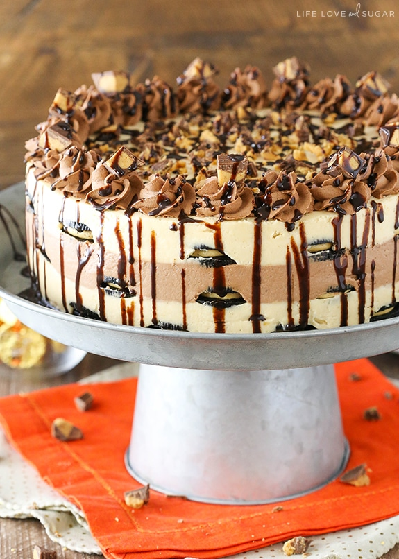 Reese S Peanut Butter Chocolate Icebox Cake Life Love
