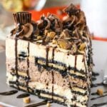Reese's Peanut Butter Chocolate Icebox Cake