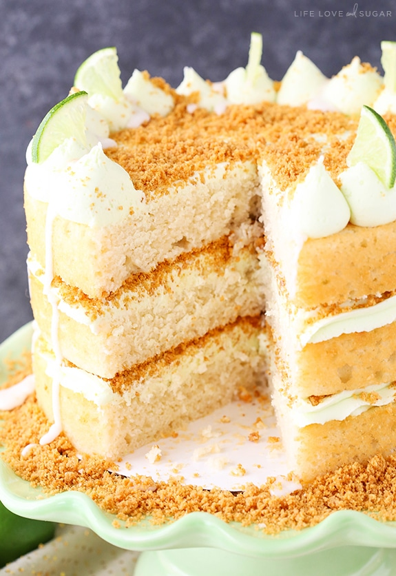 Best Key Lime Pie Layer Cake