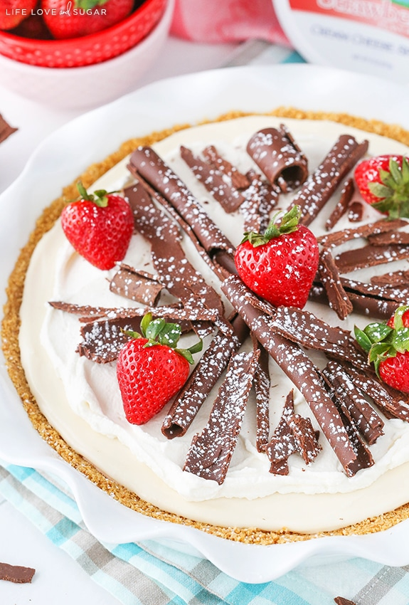 Best Neapolitan Cheesecake Pie