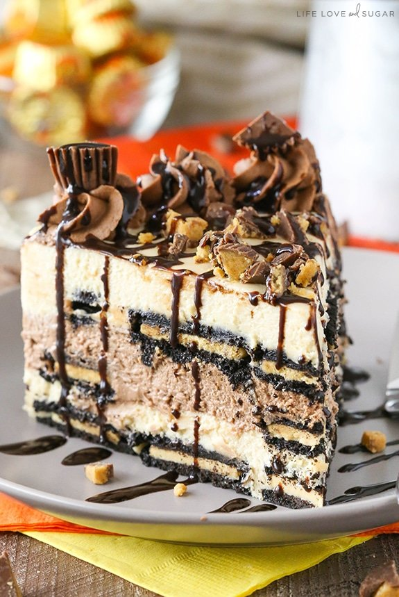 Reese S Peanut Butter Chocolate Icebox Cake Recipe No