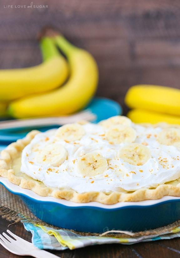 Banana cream cake family affair